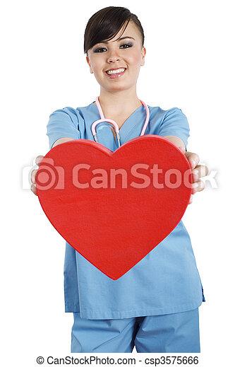 Trabajador de salud - csp3575666