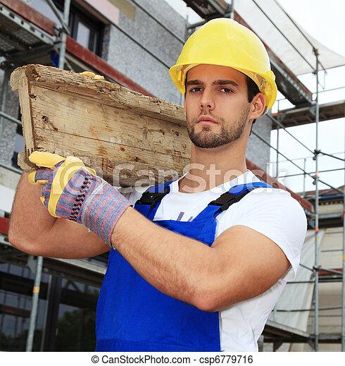 Trabajador manual - csp6779716