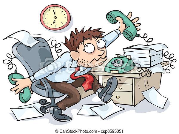 Trabajador de oficinas - csp8595051