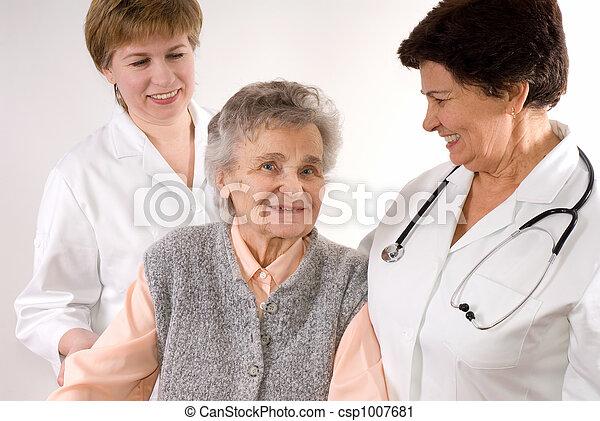 Trabajadores de salud - csp1007681