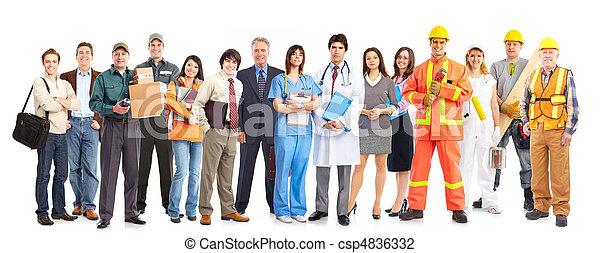 Trabajadores - csp4836332