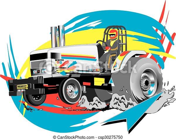 Tractor tirando - csp30275750