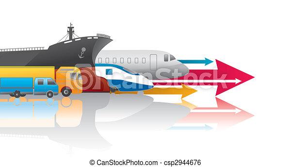 Transportación - csp2944676