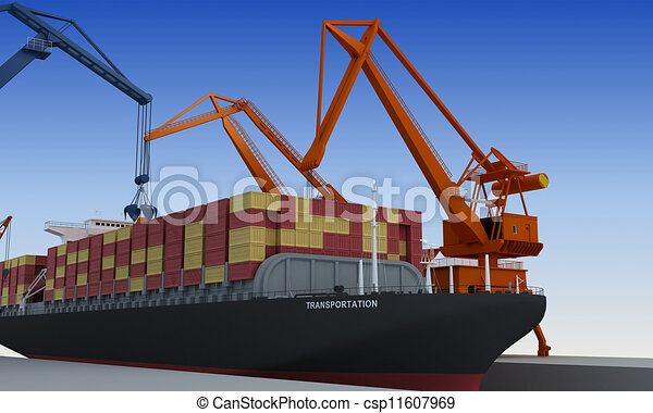 Transportación - csp11607969