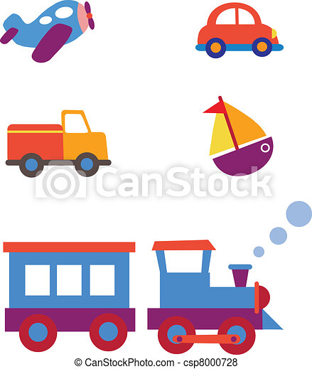 Transporte de juguete listo - csp8000728