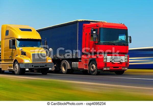 Transporte de mercancías - csp4095234