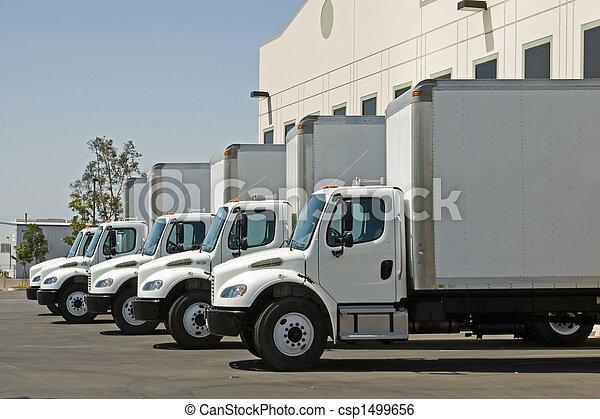 Transporte de mercancías - csp1499656