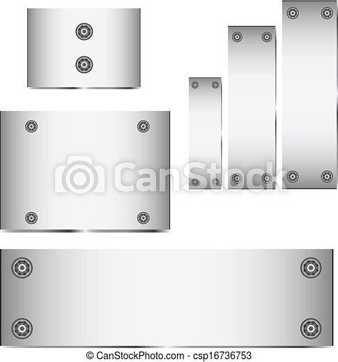 Trasfondo de textura de metal - csp16736753
