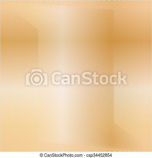 Trasfondo de textura de metal dorado. Ilustración de vectores - csp34452854