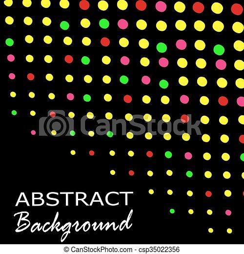Trasfondo de triángulo abstracto. Antecedentes de oro. Ilustración de vectores - csp35022356