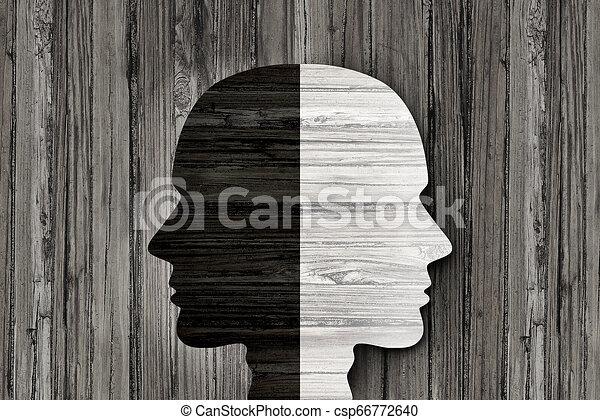 Trastorno mental de comportamiento - csp66772640