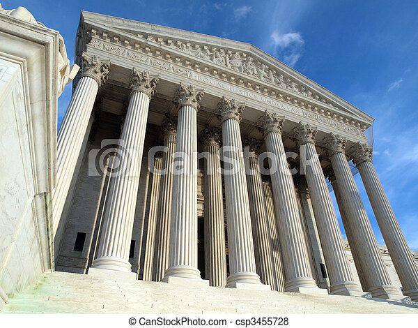 La Corte Suprema Washington DC - csp3455728