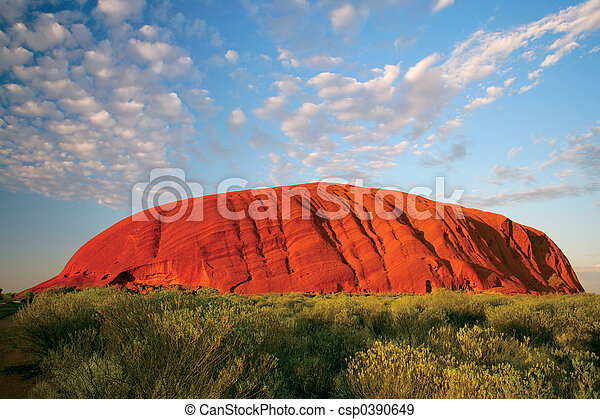 Uluru (Aiders rock) - csp0390649