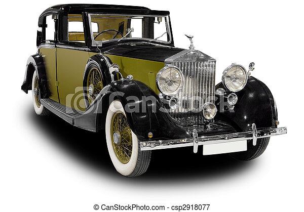 Un auto clásico - csp2918077