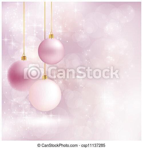 Un backgroun de Navidad suave y borroso - csp11137285