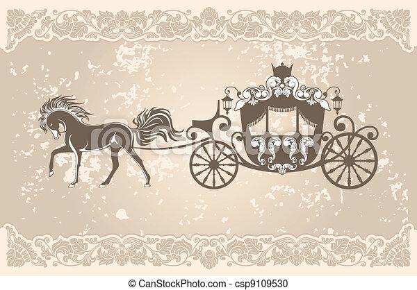 Un carruaje real - csp9109530
