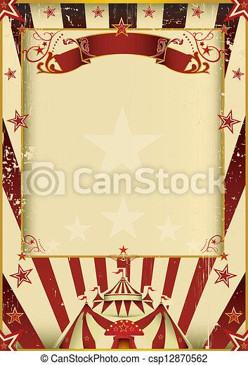 Un circo fantástico - csp12870562