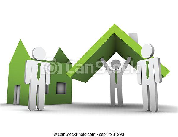 Un concepto de negocios - csp17931293