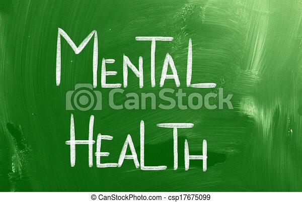 Un concepto de salud mental - csp17675099