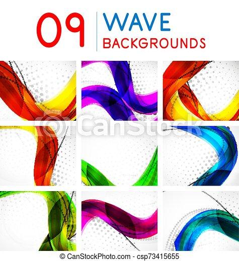 Un conjunto de vectores de ondas abstractas - csp73415655