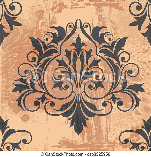 Un elemento clásico de decoración - csp3325956