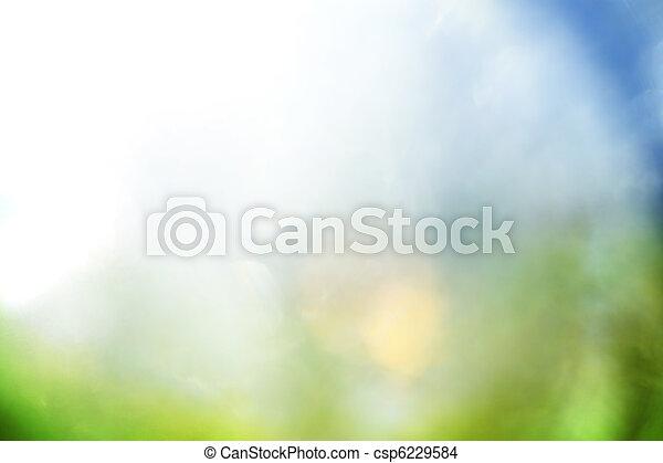 Un fondo abstracto azul y verde - csp6229584