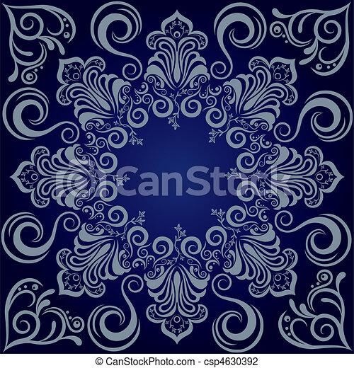 Un fondo azul mandarla - csp4630392