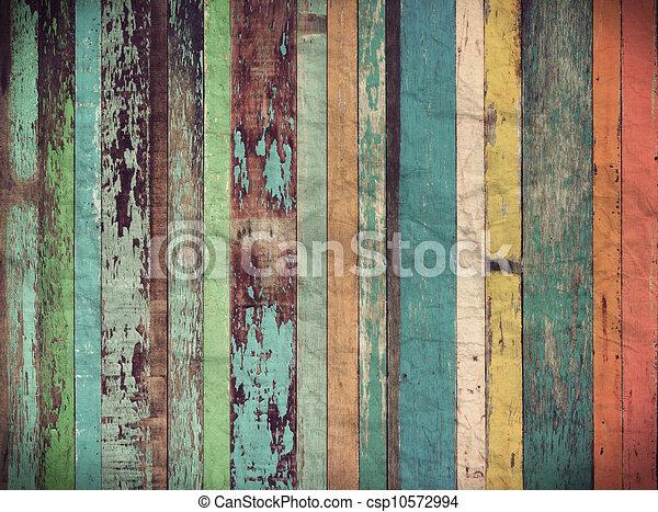 Un fondo de madera para papel tapiz Vintage - csp10572994