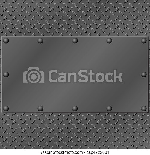 Un fondo de metal - csp4722601