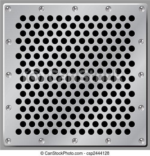 Un fondo de metal - csp2444128