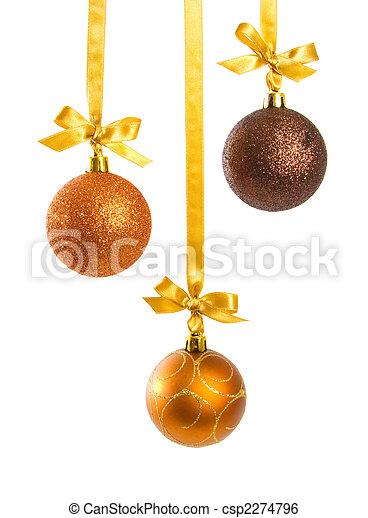 Un fondo de Navidad - csp2274796