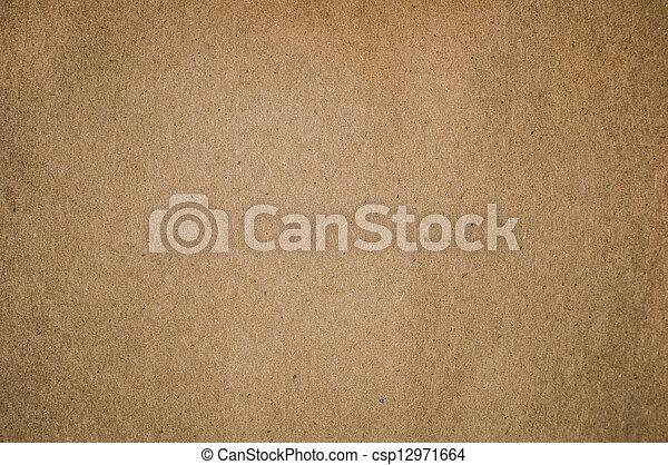 Un fondo de papel en blanco - csp12971664