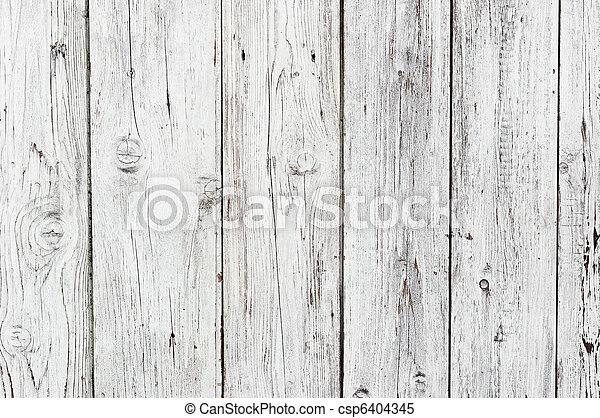 Un fondo de textura de madera blanca - csp6404345