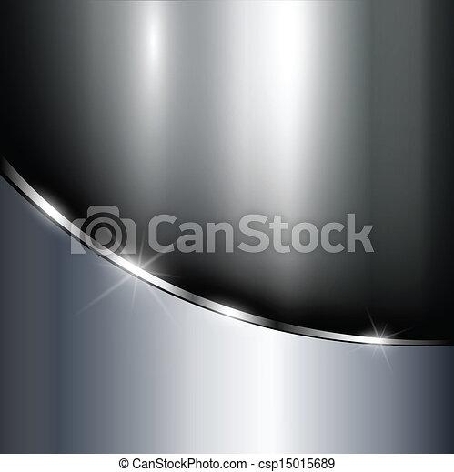 Un fondo metálico - csp15015689