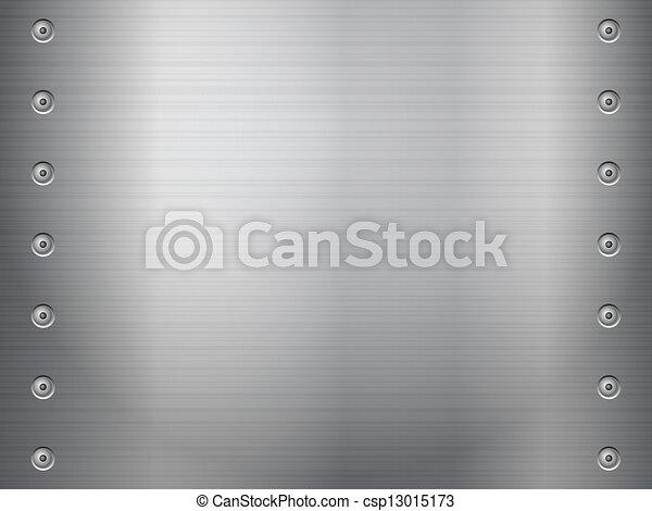 Un fondo metálico - csp13015173