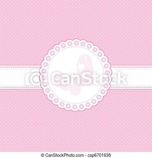 Un fondo rosa - csp6701638