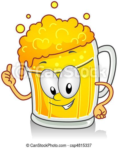Un gesto de cerveza - csp4815337