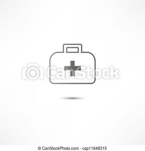 Un icono de primeros auxilios - csp11648315