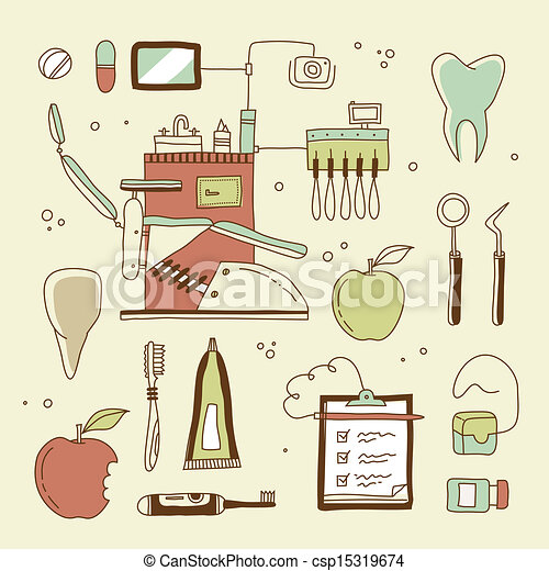Un icono dentista - csp15319674