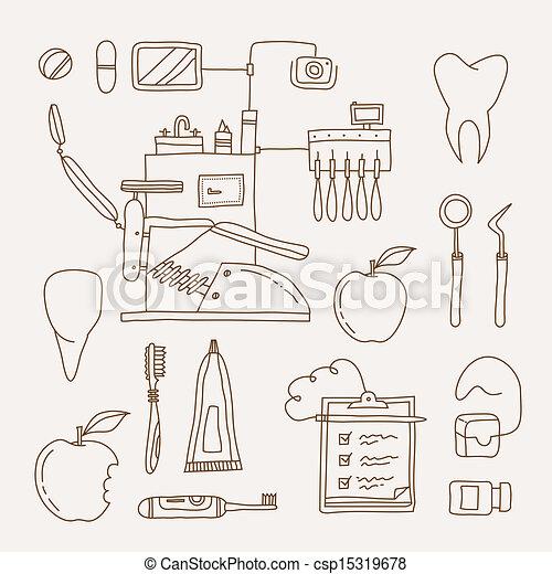 Un icono dentista - csp15319678