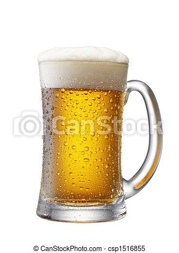 Un montón de cerveza - csp1516855