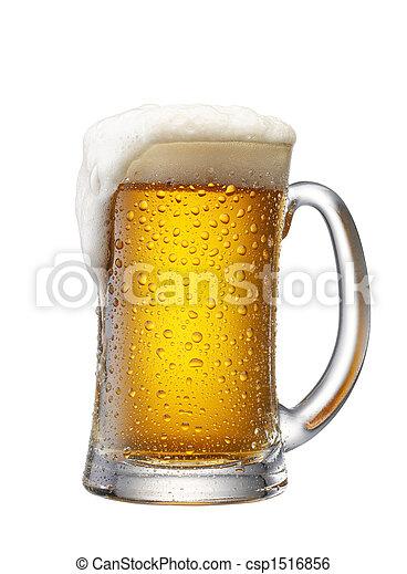 Un montón de cerveza - csp1516856