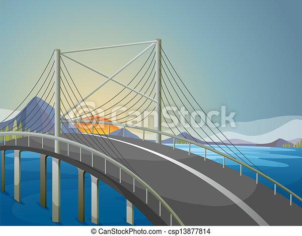 Un puente largo - csp13877814