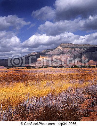 Un rancho fantasma - csp3419266