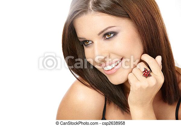 Un retrato encantador - csp2638958