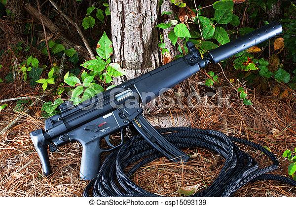 Un rifle silenciado - csp15093139