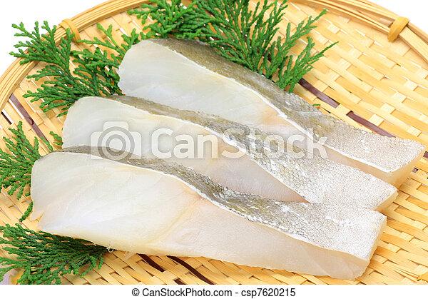 Un trozo de bacalao - csp7620215