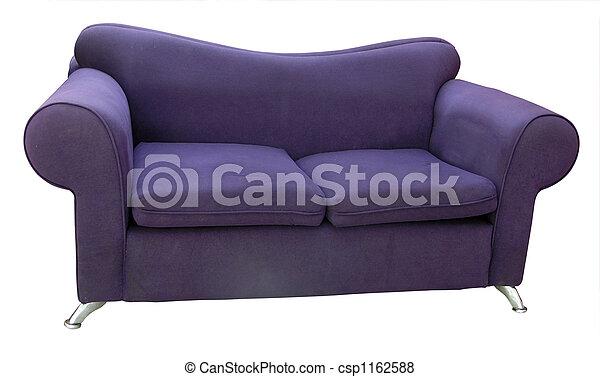 Un viejo sofá cómodo - csp1162588