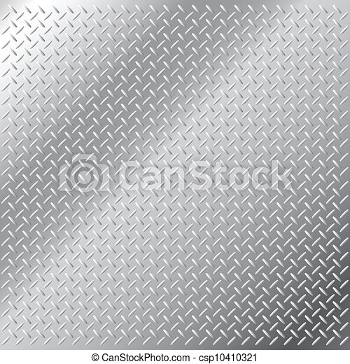 Una escotilla de metal brillante - csp10410321