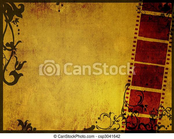 Una gran película para texturas y antecedentes - csp3041642